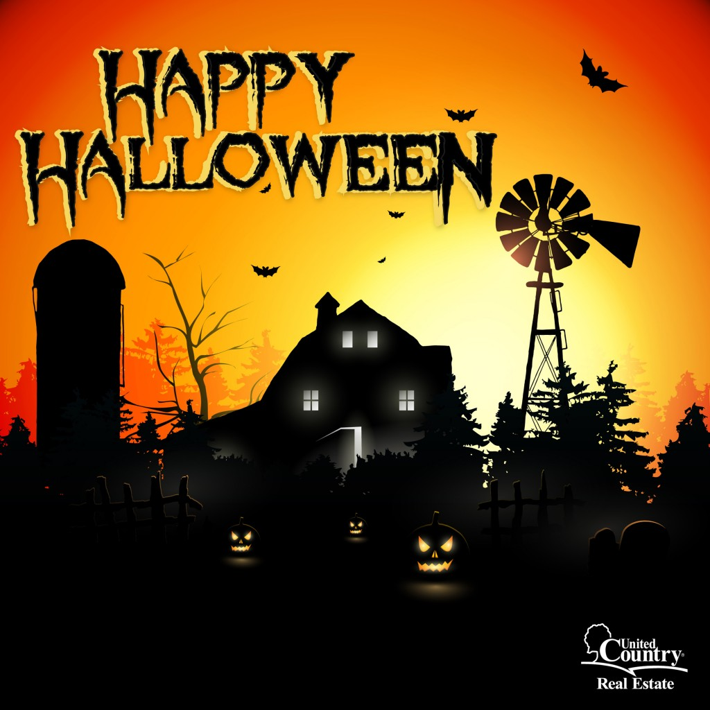 Happy Halloween from the nation's lifestyle property experts!